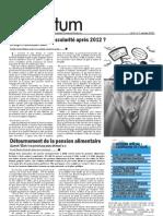 ASSÉ - Ultimatum - Vol. 9, No. 1 - septembre 2009