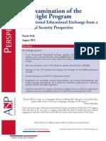An Examination of the Fulbright Program
