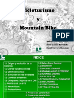 Cicloturismo y Mountain-bike