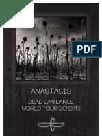 Dead Can Dance Digital Tour Program