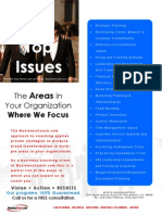 Areas Where We Focus