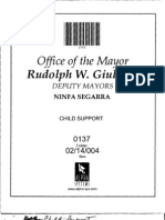 Box 02-14-004 Folder 0137 (Child Support Policy, Licensing) 1996