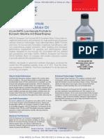 AMSOIL 5W-30 European Car Formula Synthetic Motor Oil