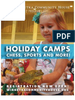 WCH Holiday Camps 2012