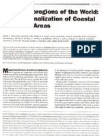 Marine Ecoregions of the World a Bioregionalization of Coastal and Shelf Areas