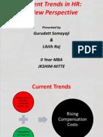 Current Trends in Hr Presentation
