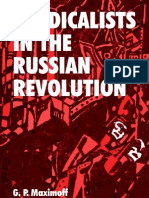 Syndicalists in the Russian Revolution