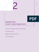 Budgeting; Cash Flow Forecasts