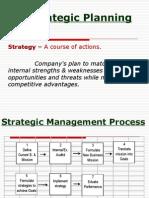 3) Strategic Planning