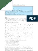 SESION ORDINARIA N 03-06