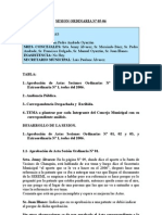 SESION ORDINARIA N 05-06
