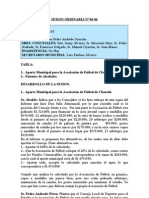 SESION ORDINARIA N 06-06