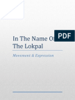 In the Name of the Lokpal