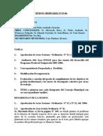 SESION ORDINARIA N 13-06