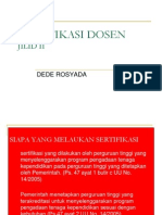 Sertifikasi Dosen Jld 2-DeDE ROSY PDG
