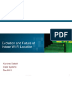 Cisco Location Technology Evolution - WCA