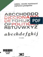 Lectura 2 Diccionario de Política Bobbio