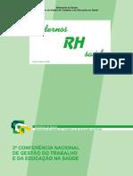 BRASIL, Cadernos RH Saúde, vol.3, n.1