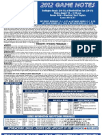 Bluefield Blue Jays Game Notes 8-10