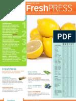 Fresh Press 8-10-12