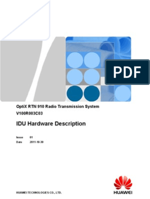 huawei rtn 910 pdf