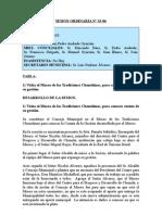 SESION ORDINARIA N 33-06