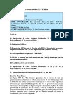 SESION ORDINARIA NU 01-07