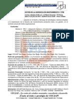 DIPLOMADO EN GESTIÓN DE LA GERENCIA DE MANTENIMIENTO Y TPM