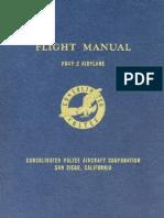 PB4Y-2 Privateer Flight Manual