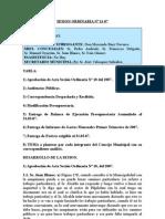 SESION ORDINARIA NUM 11-07