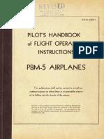 PBM Mariner Flight Manual