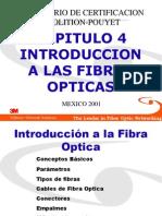 Capitulo 4 Introduccion a Fibras Opticas