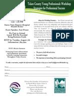TCYP Strategies for Professional Success Workshop 8.10.12