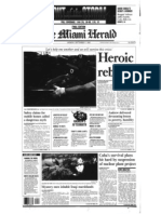 Miami Herald Front Page Sept. 7, 1992