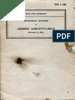 Military Airship Aerodynamics (1941)