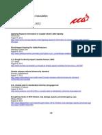 CCA Headlines Aug 6 - 10 2012