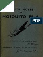 FB.6 Mosquito Flight Manual