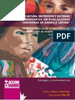 CULTURA, NUTRICIÓN Y SISTEMAS ALIMENTARIOS EN POBLACIONES INDÍGENAS DE AMÉRICA LATINA