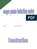 Single Phase Induction Motor1