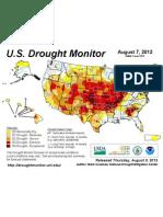 USDA US-DroughtMonitorMap 8-7-12
