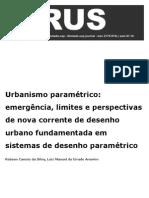 Virus Urbanismo Paramétrico