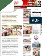 """10/08/2012 Entrega RSC escrituras de predio """"Tatei Aramara"""" a indígenas"""