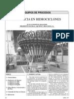 Eficiencia en Hidrociclones
