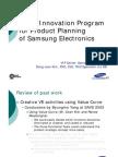 Kim DJ-Value Innovation Program for Samsung