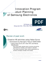 Kim DJ-Value Innovation Program for Samsung