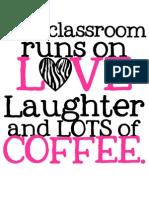 This Classroom COFFEEpinkzebra
