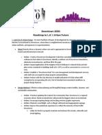Dt 2020 Legislative Priorities Jan 2012