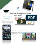 10 Razones Para Elegir Un Samsung Galaxy Nexus