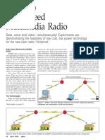 High Speed Multimedia Radio