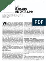 Inexpensive Multi-Megabaud Microwave Data Link